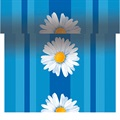 Bordløber_Margret_Blue_Duni_bordpynt