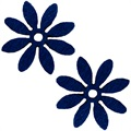 Fabio_decor_blomster_darkblue_lille