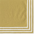 Caspari_Gold_Stripe_border_servietter